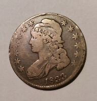 1833 CAPPED BUST HALF DOLLAR. NICE TONE AND CONDITION.