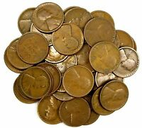 LOT OF 40 1925 D 1C LINCOLN WHEAT CENT PENNIES CIRCULATED W/ PROBLEMINT STATE 63691