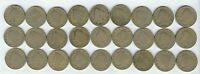 LIBERTY V NICKEL LOT  27 COINS  9-1910, 9-1911, 9-1912  YOU GET COINS PICTURED