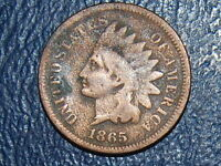 1865 INDIAN HEAD CENT  OLD US COIN  512