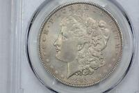 1893-O MORGAN SILVER DOLLAR $1 PCGS MINT STATE 63 CAC ROCK SOLID NEAR GEM