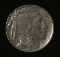 1935 P PHILADELPHIA INDIAN HEAD BUFFALO NICKEL FULL DATE