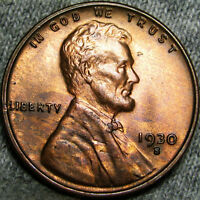 1930-S LINCOLN CENT WHEAT CENT ---- STUNNING  ---- B712