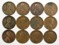 LOT OF 35 1925 D 1C LINCOLN WHEAT CENT PENNIES GOOD OFF QUALITY 63223