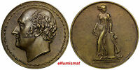 GREAT BRITAIN BRONZE MEDAL 1826 BY A.J. STOTHARD