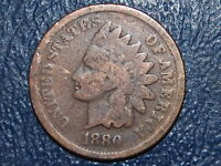 1880 INDIAN HEAD CENT  407