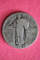 1927-P STANDING LIBERTY QUARTER 90 SILVER FLAT RATE SHIPPING COIN 175