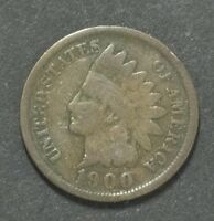 1900 INDIAN HEAD PENNY CENT   11486