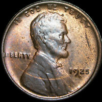 1925-D LINCOLN CENT WHEAT CENT ---- STUNNING ---- B970