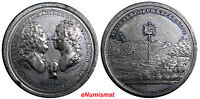 AUSTRIA. FRANZ I AND MARIA THERESIA MEDAL 1741 BIRTH OF FIRST SON JOSEF.43.00 MM