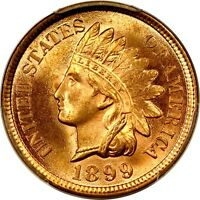 1899 1C INDIAN CENT PCGS MS64RD PHOTO SEAL 830