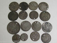 A LOT OF OTTOMAN EMPIRE & AUSTRO HUNGARY SILVER COINS AROUND   1800 YEAR