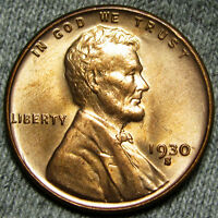 1930-S LINCOLN WHEAT CENT PENNY -- GEM BU CONDITION -- R565
