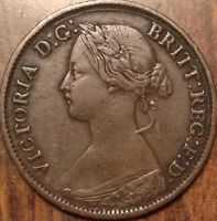 1862 UK GREAT BRITAIN FARTHING GOOD EXAMPLE IN GOOD CONDITION