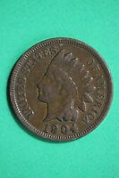 1904 INDIAN HEAD CENT PENNY EXACT COIN PICTURED FLAT RATE SHIPPING 0331