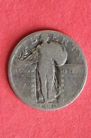 1929 P STANDING LIBERTY QUARTER FAST SHIPPING 90 SILVER US BULLION COIN 159