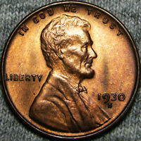 1930-S LINCOLN CENT WHEAT CENT ---- STUNNING ---- B539