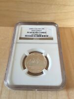 1999 S SILVER NEW JERSEY STATE QUARTER NGC GRADED PF69 ULTRA CAMEO