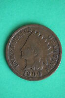 1900 INDIAN HEAD CENT PENNY EXACT COIN PICTURED FLAT RATE SHIPPING 0637