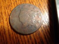1829 LARGE CENT   COIN R8