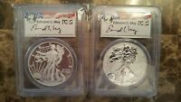 2013 AMERICAN SILVER EAGLE WEST POINT SET PCGS 70 FIRST STRIKE EDMUND C. MOY