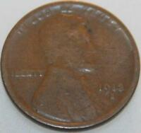 CENT SMALL LINCOLN 1913-S WHEAT CENT [SN19]