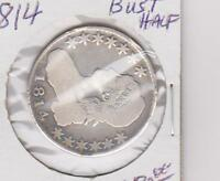 1814 CAPPED BUST HALF DOLLAR MD0031