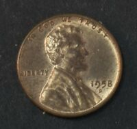 1958 D LINCOLN PENNY CENT   10039