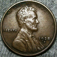 1928 S LINCOLN CENT WHEAT PENNY             B680 MSQ