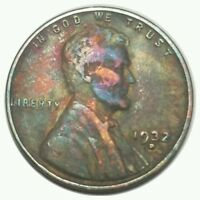 1932  D LINCOLN WHEAT CENT     . 3890