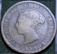 569 1888 CANADIAN COINS LARGE CENT QUEEN VICTORIA