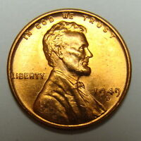 1949 D LINCOLN CENT NICE RED COLLECTOR COIN