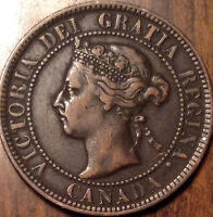 1897 CANADA LARGE CENT IN