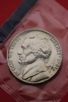 1981 P BU JEFFERSON NICKEL IN CELLO EXACT COIN PICTURED FLAT RATE SHIPPING 07