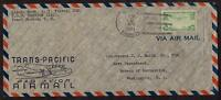 TRANS-PACIFIC CLIPPER MAIL APRIL 2 1939 USS SIMPSON DD 221 KB:PEARL HARBOR