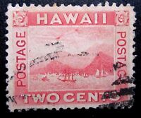 HAWAII SCOTT 81 FLYING GOOSE FLAW.  FINE. CV $350