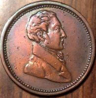 1820 1830 LOWER CANADA HALF PENNY TOKEN COMMERCIAL CHANGE BR1007