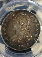 1826 BUST HALF PCGS XF45 NICE LOOKS AU NEW PURCHASES CHN