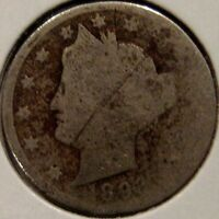 1893 LIBERTY NICKEL   COIN AVERAGE CIRCULATED BETTER DATE I11