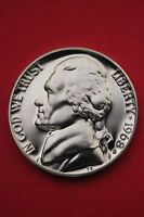 1968 S PROOF THOMAS JEFFERSON NICKEL EXACT COIN SHOWN FLAT RATE SHIPPING 04