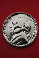 1968 S PROOF THOMAS JEFFERSON NICKEL EXACT COIN SHOWN FLAT RATE SHIPPING 12