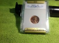 1963 D  SGS  LINCOLN CENT