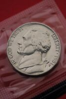 1981 P BU JEFFERSON NICKEL IN CELLO EXACT COIN PICTURED FLAT RATE SHIPPING 13