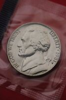 1981 P BU JEFFERSON NICKEL IN CELLO EXACT COIN PICTURED FLAT RATE SHIPPING 20