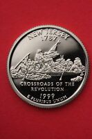 1999 S NEW JERSEY PROOF QUARTER CLAD EXACT COIN PICTURED FLAT RATE SHIPPING 17