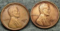 1925-D  1925-S LINCOLN CENT WHEAT CENT --- STUNNING DETAILS --- D746