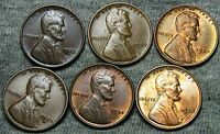 1930 1932 D 1933 1933 D19341937 LINCOLN WHEAT CENTS STUNNING  LOT N894