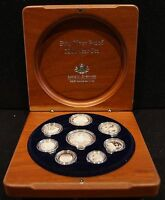 2006 ROYAL AUSTRALIAN MINT EIGHT COIN SILVER YEAR PROOF SET