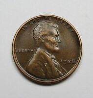 1936 LINCOLN WHEAT CENT   NICE PENNY   COMBINED SHIPPING   LOT A16