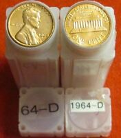 1964 D UNCIRCULATED LINCOLN ROLL